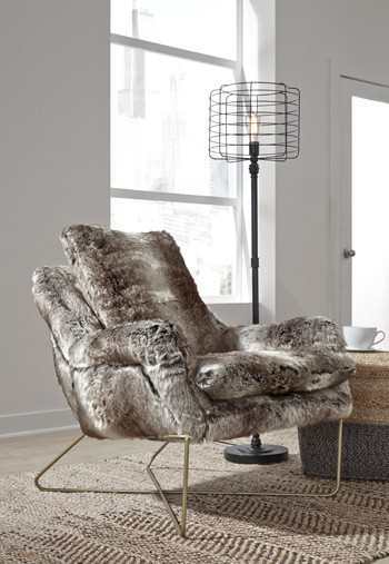 Enjoyable Wildau Gray Accent Chair Machost Co Dining Chair Design Ideas Machostcouk