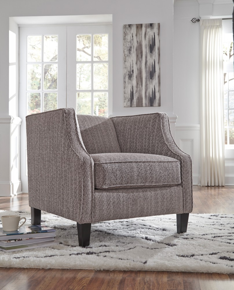 Phenomenal Alsatin Latte Accent Chair Ocoug Best Dining Table And Chair Ideas Images Ocougorg