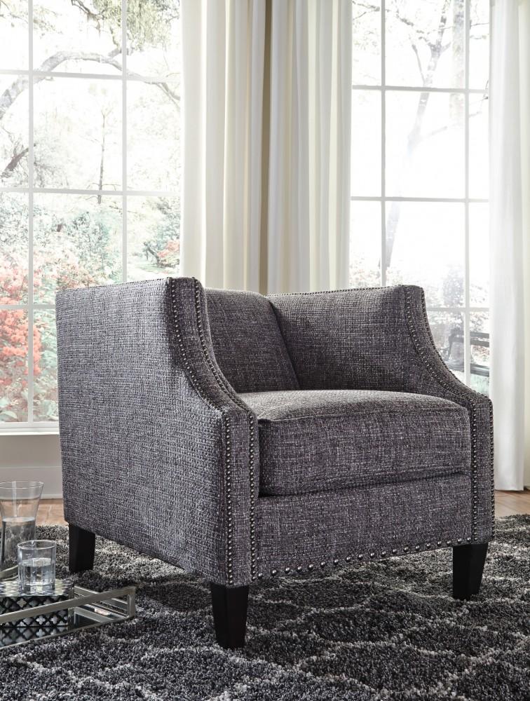 Felsbert   Charcoal   Accent Chair