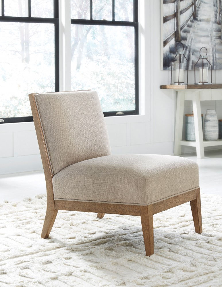 Sensational Novelda Neutral Accent Chair Ocoug Best Dining Table And Chair Ideas Images Ocougorg