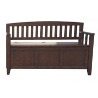 Charvanna - Dark Brown - Storage Bench