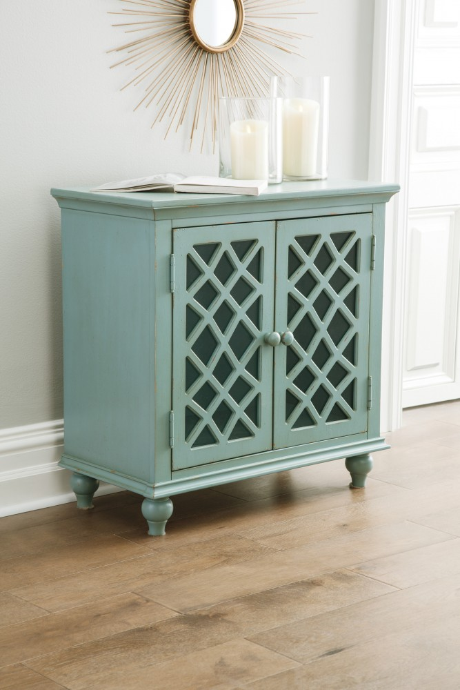 Very best Mirimyn - Antique Teal - Accent Cabinet | A4000061 | Accent  RW15