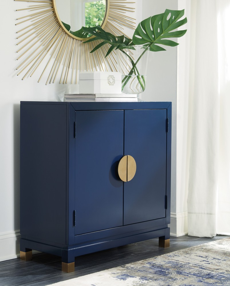 Walentin - Blue - Accent Cabinet