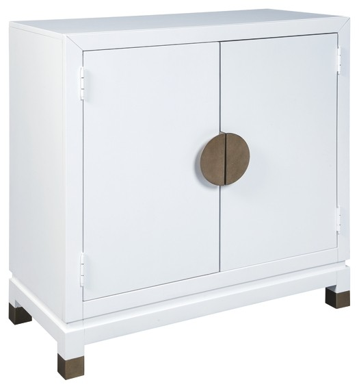 Walentin White Accent Cabinet A4000065 Accent Cabinets Price Busters Furniture