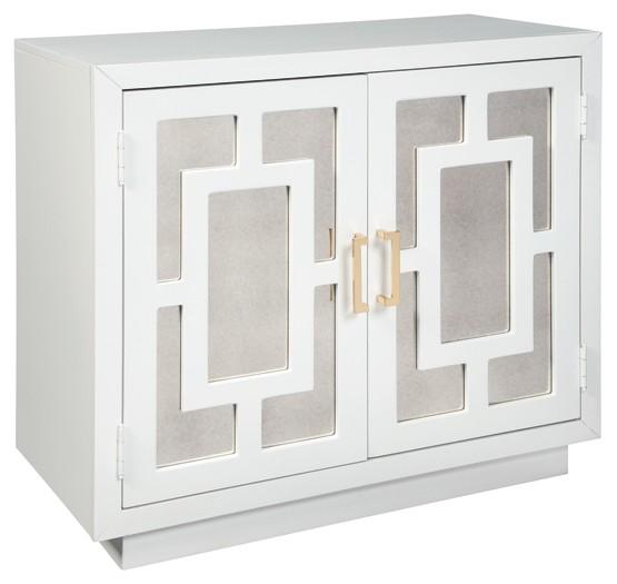 Walentin - White - Accent Cabinet