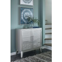 Senzernell - Silver - Accent Cabinet