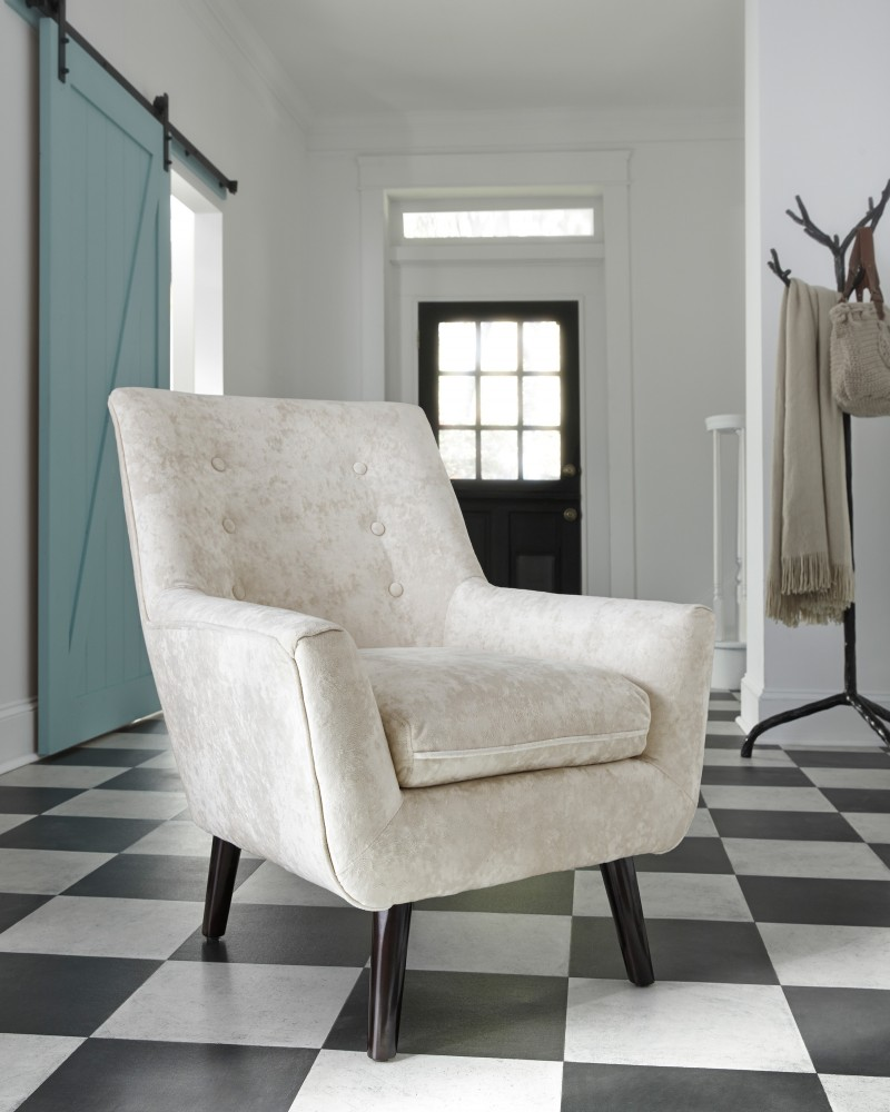 Magnificent Zossen Ivory Accent Chair Ocoug Best Dining Table And Chair Ideas Images Ocougorg