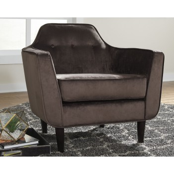 Oxette - Mink - Accent Chair
