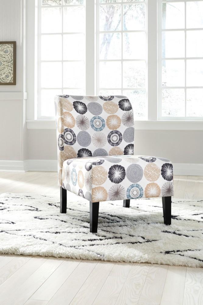 Triptis - Gray/Tan - Accent Chair