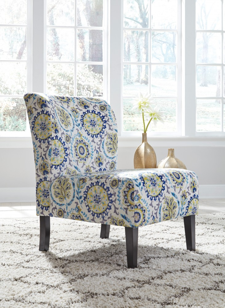 Ordinaire Triptis   Blue/Green   Accent Chair