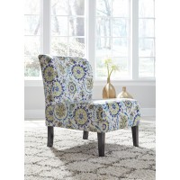 Triptis - Blue/Green - Accent Chair