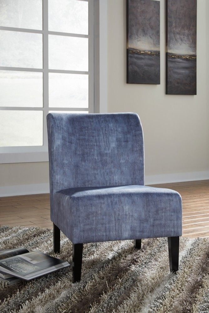 Charmant Triptis   Denim   Accent Chair