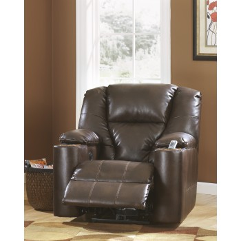 Paramount DuraBlend - Brindle - Power Recliner
