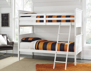 Lulu Twin Bunk Bed Rails And Ladder B102 59r Bed Frame My Home