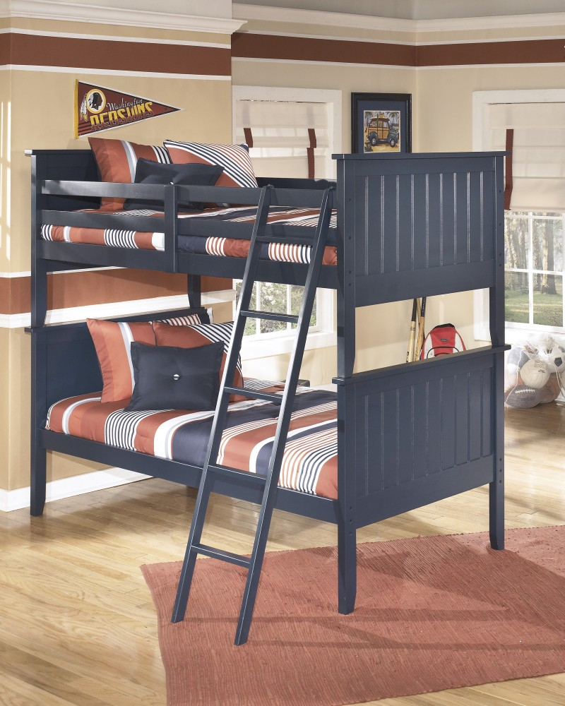 Leo Twin Bunk Bed Slats B103 59s Bed Frame Furniture Factory
