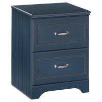 Leo - Two Drawer Night Stand