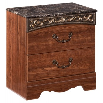 Fairbrooks Estate - Two Drawer Night Stand