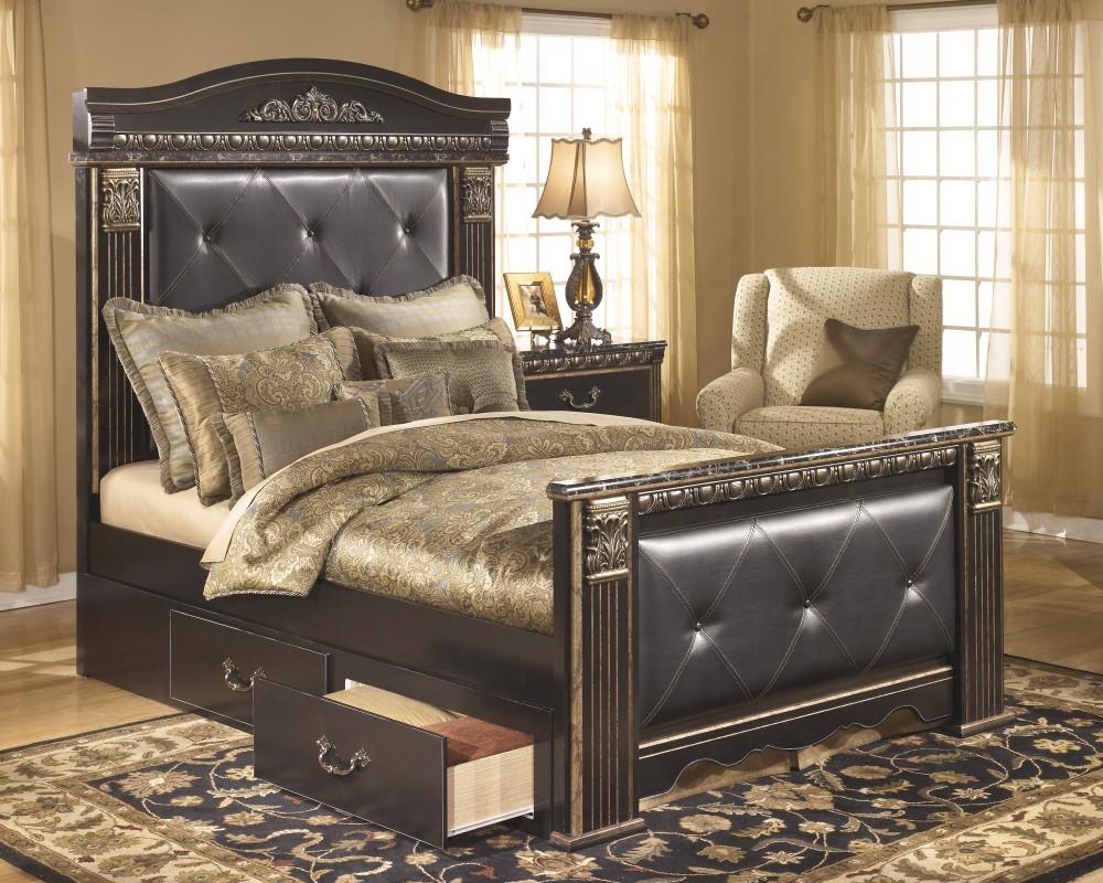 Coal Creek Mansion Under Bed Storage B175 60 Bed Frames