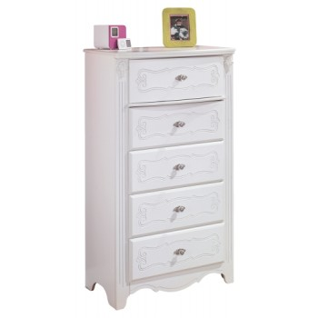 Exquisite - Five Drawer Chest