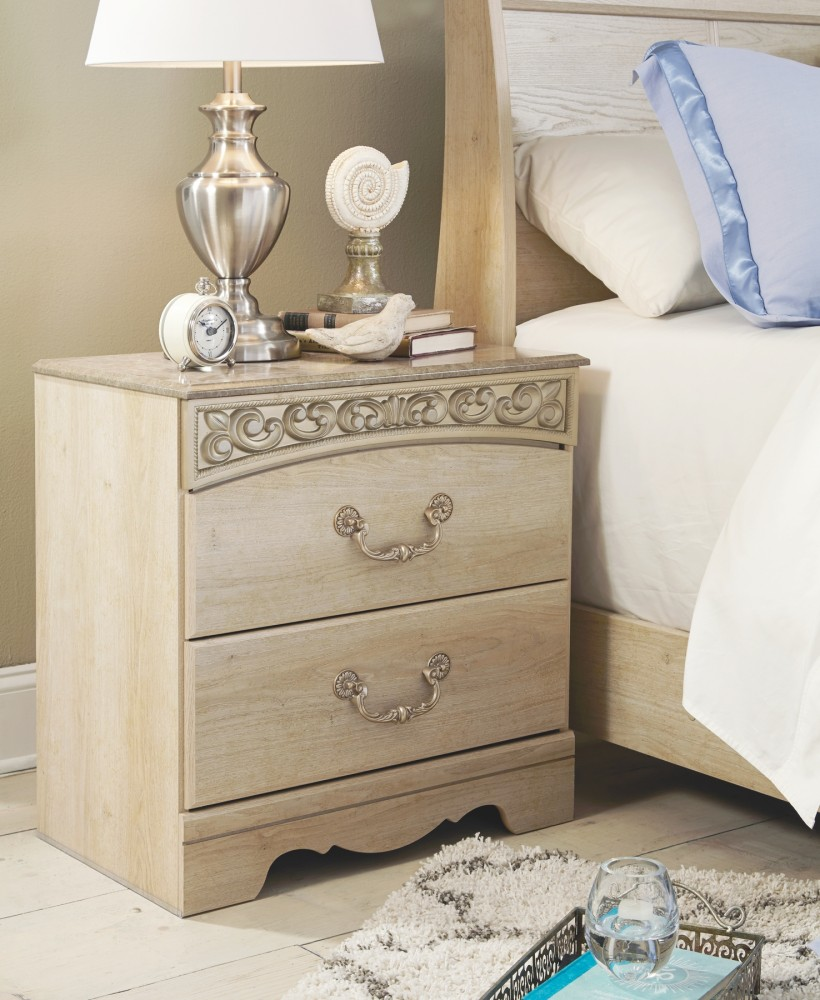 Catalina - Two Drawer Night Stand