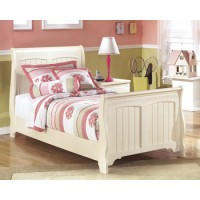 Cottage Retreat Twin Sleigh Footboard