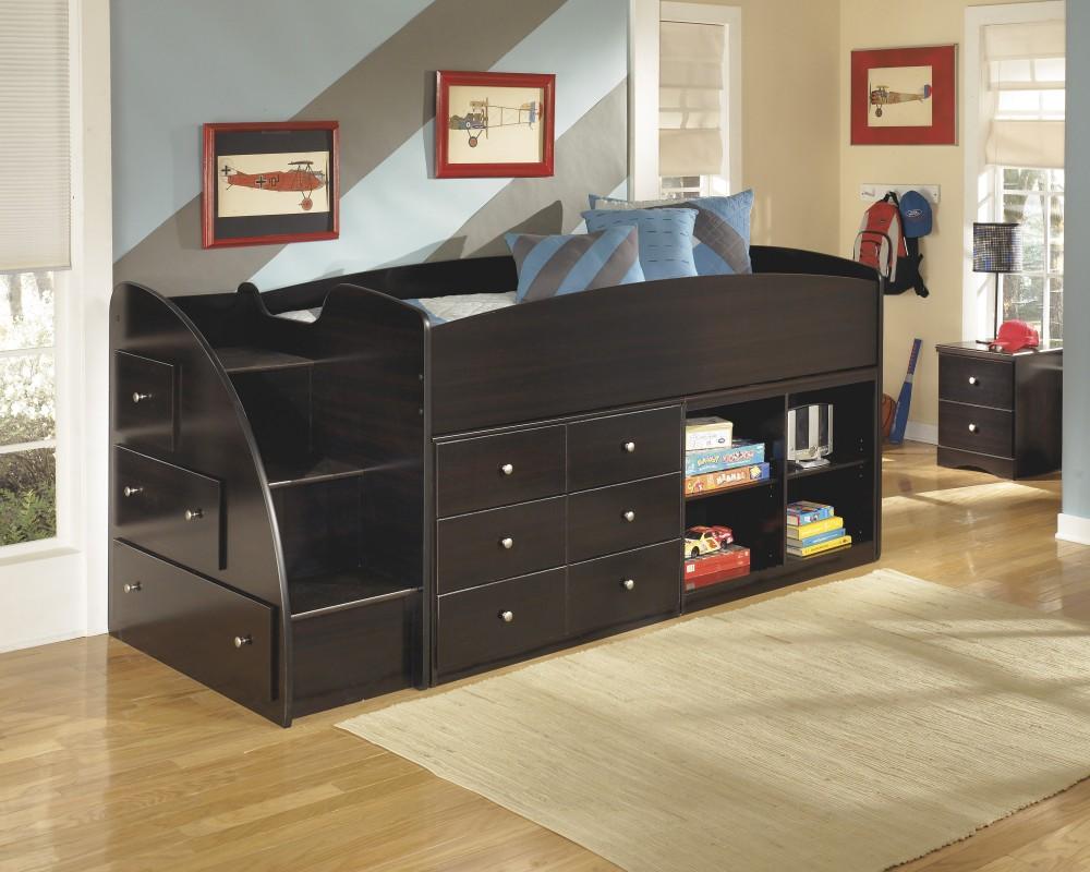 Embrace Left Storage Steps W Loft Ends B239 13l Bed Frame