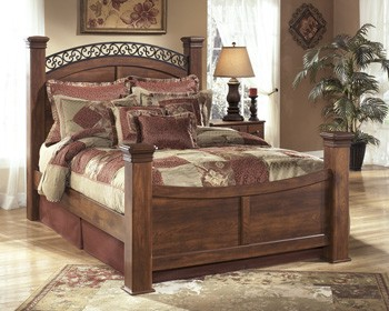 Timberline King Poster Footboard