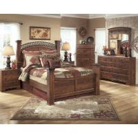 Timberline - Queen Poster Headboard Panel