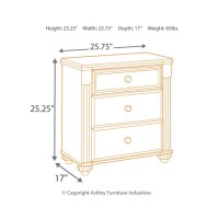Gabriela - Two Drawer Night Stand