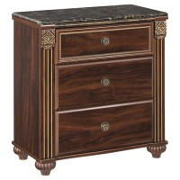 Gabriela - Three Drawer Night Stand