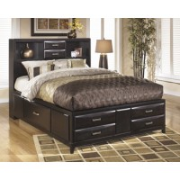 Kira Queen Storage Headboard