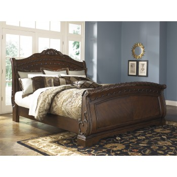 North Shore - King/Cal King Sleigh Footboard