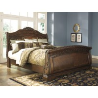 North Shore King/California King Sleigh Footboard