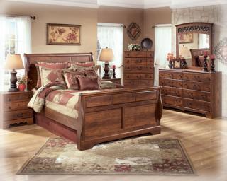 Timberline Sleigh Bed Bedroom Group