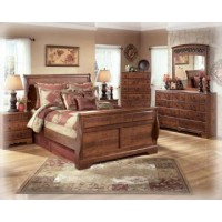 Timberline Sleigh Bed Bedroom Group