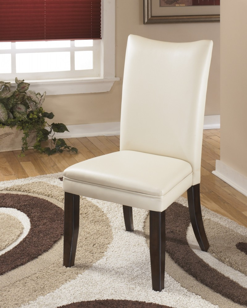 Charrell   Ivory Dining UPH Side Chair (Set Of 2)