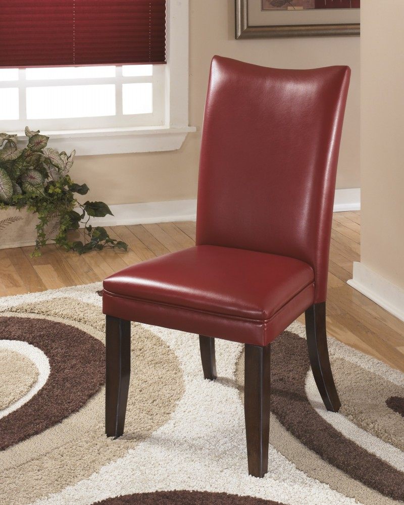 Charrell   Red Dining UPH Side Chair (Set Of 2)