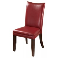 Charrell - Red Dining UPH Side Chair (Set of 2)
