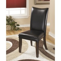 Charrell - Black Dining UPH Side Chair (Set of 2)