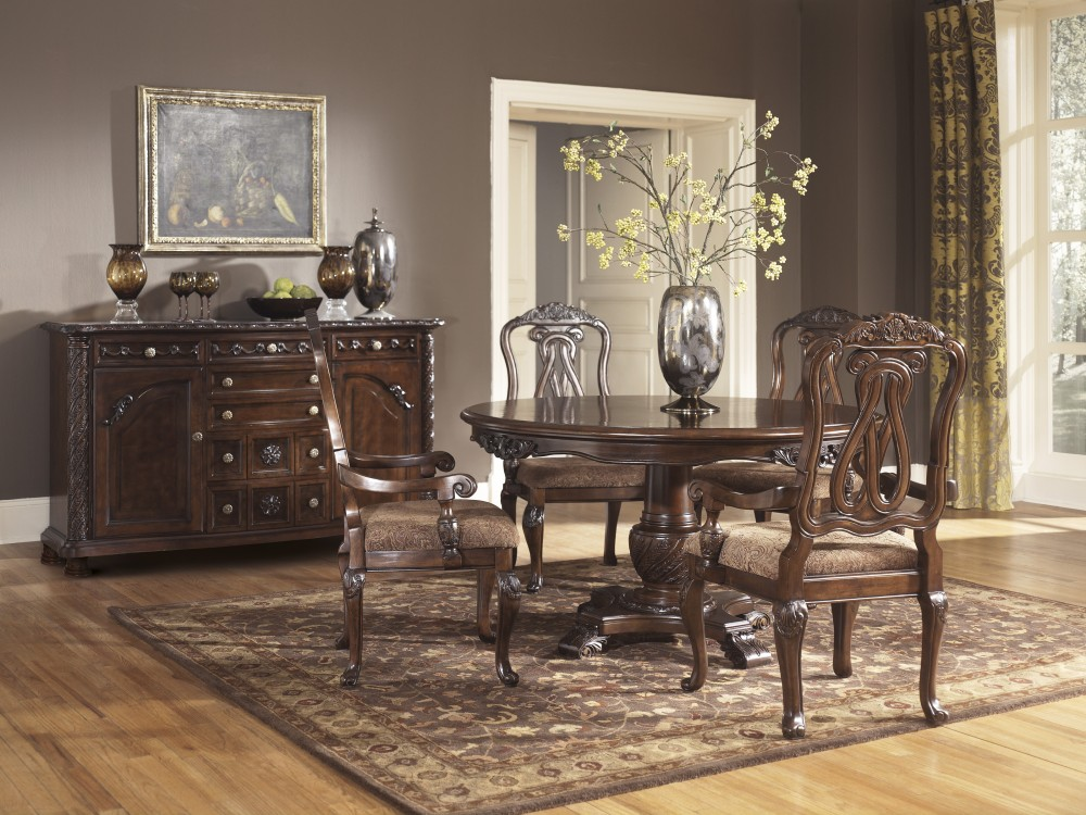 North Shore - Round DRM Pedestal Table Base