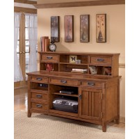 Cross Island - Home Office Short Desk Hutch