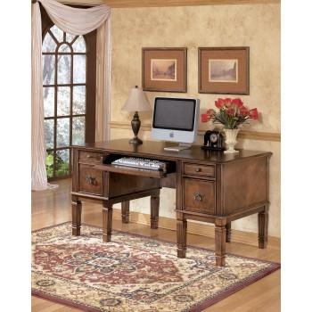 Hamlyn - Home Office Storage Leg Desk