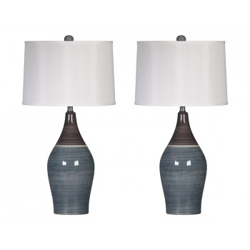 Niobe - Ceramic Table Lamp (Set of 2)