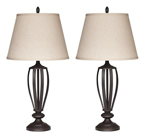 Mildred - Metal Table Lamp (Set of 2)