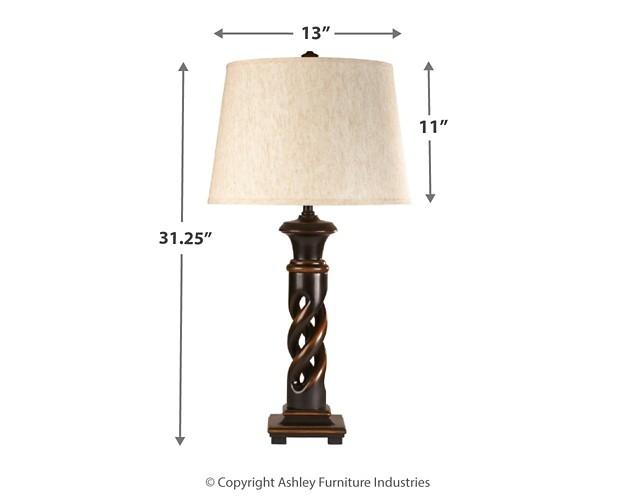 Fallon - Poly Table Lamp (Set of 2)