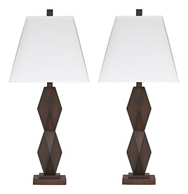 Natane poly table lamp set of 2 l292154 lamps 4 seasons natane poly table lamp set of 2 aloadofball Image collections