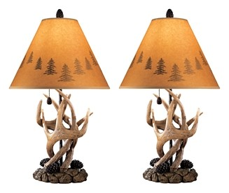 Derek - Poly Table Lamp (Set of 2)