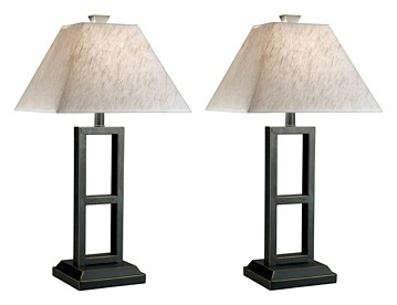 Deidra - Metal Table Lamp (Set of 2)