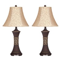 Mariana - Resin Table Lamp (Set of 2)
