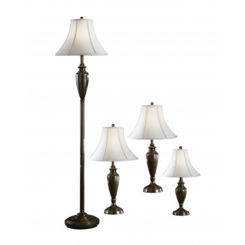 Caron - Metal Lamp (Set of 4)